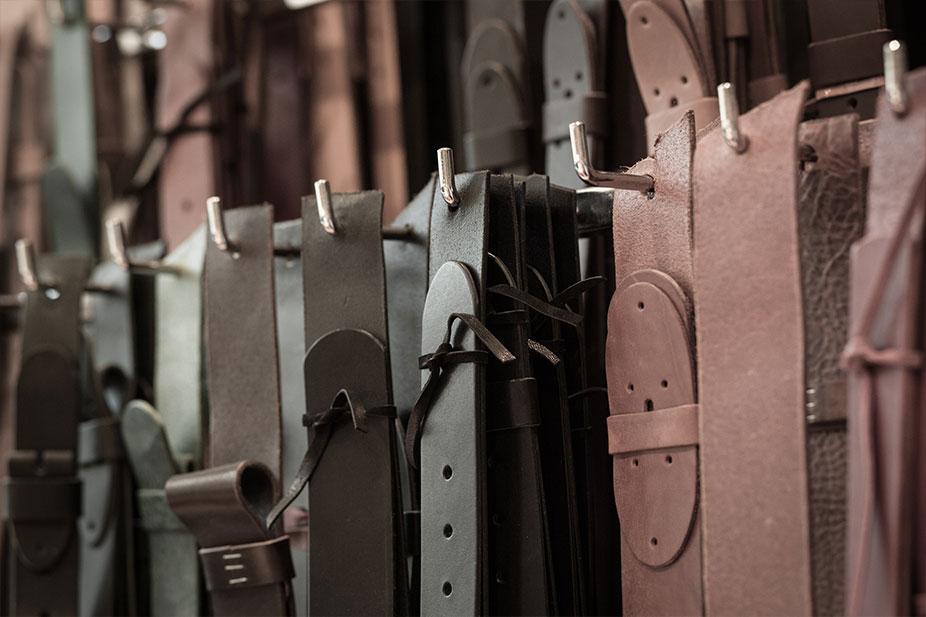 Handgemachte Ledergürtel in Oldenburg
