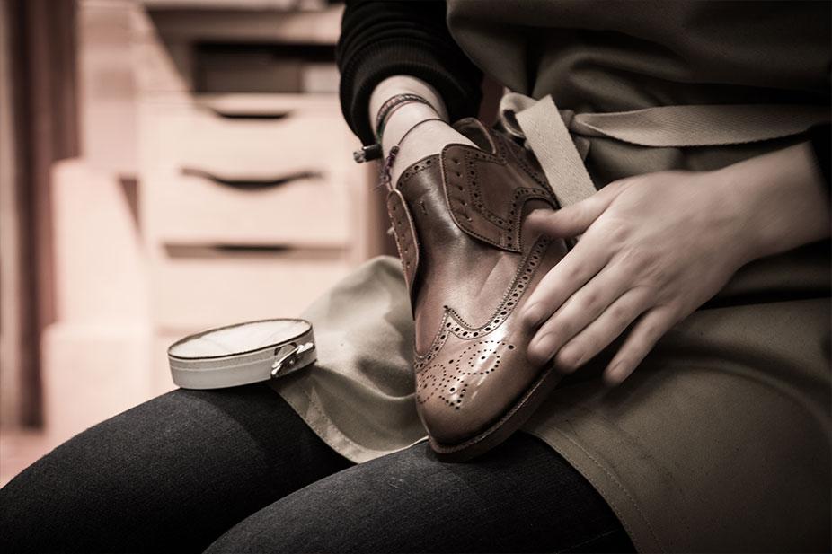 Schuhpflege erklärt