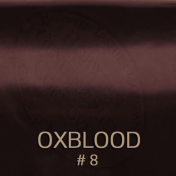 Oxblood – Nummer 8