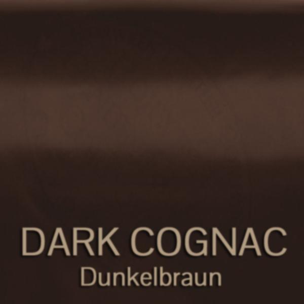 cordovan_dark_cognac_dunkelbraun - Shell Cordovan Leder