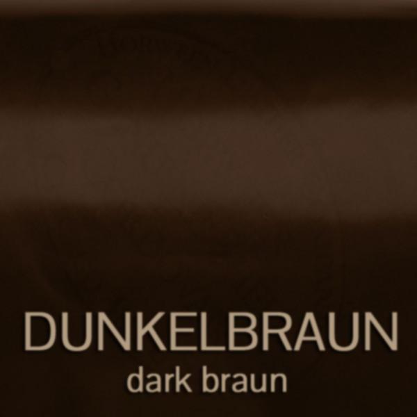 Dunkelbraun – dark braun