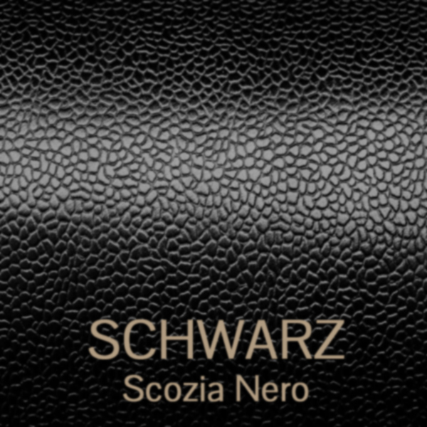 scozia_nero - Scotch Grain Leder