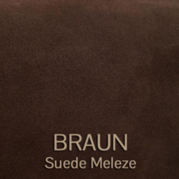 suede_meleze_braun - Veloursleder
