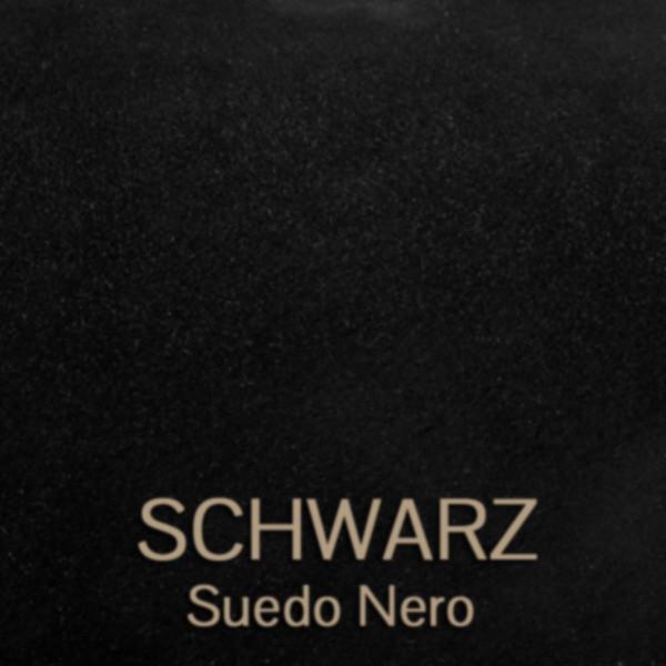 Schwarz- Suede Nero