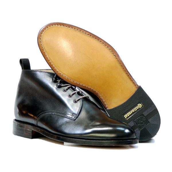 SCHUHREPARATUR – Rahmengenähte Schuhe komplette Sohle
