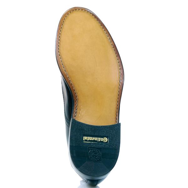 Schuhreparatur per Post von rahmengenähten Schuhen