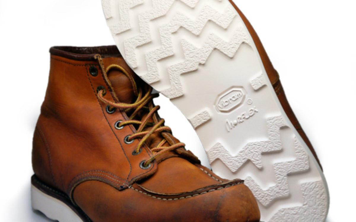 Red Wing Schuhreparatur Moc Toe