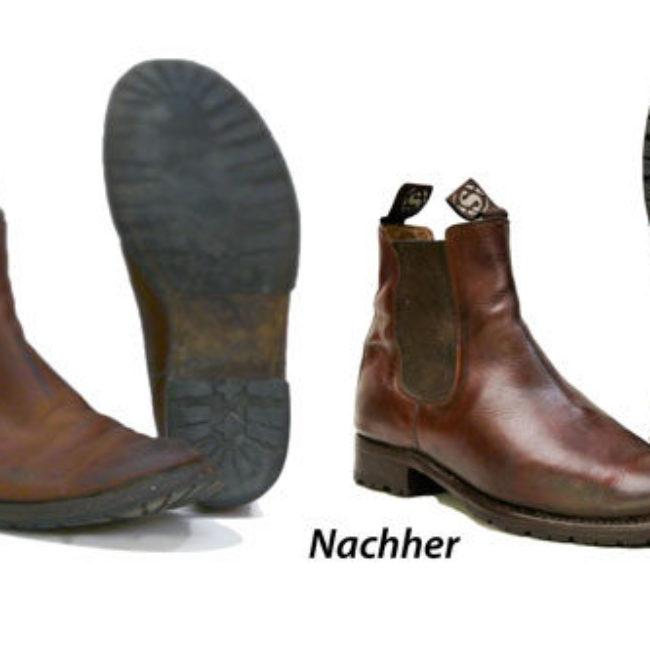 Sohlen und Absätze für Schuhreparatur von Sendra Boots