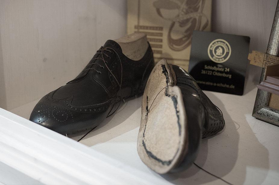 Rahmengenähte Schuhe reparieren in Oldenburg