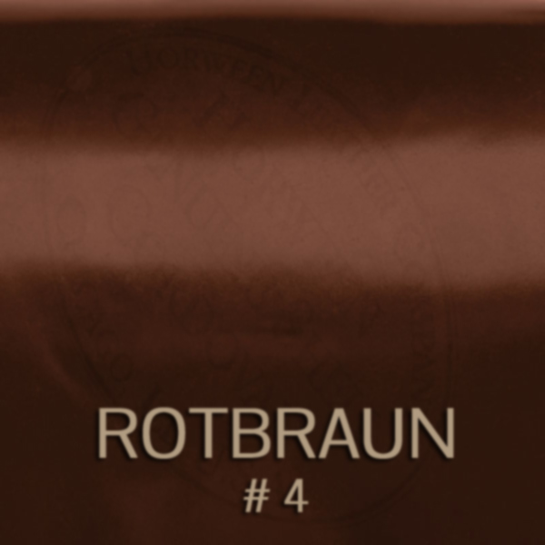 cordovan_4_rotbraun - Shell Cordovan Leder