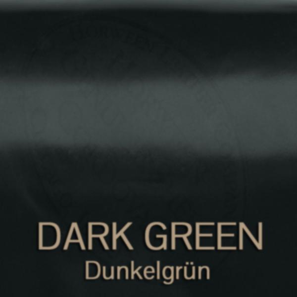 cordovan_dark_Green - Shell Cordovan Leder