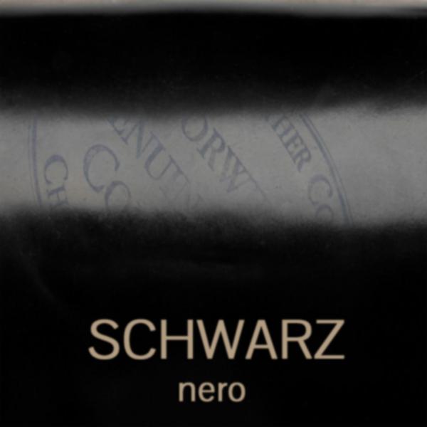 cordovan_nero_schwarz - Shell Cordovan Leder