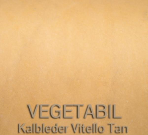 Vegetabil – Kalbleder Vitello Tan