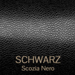 scozia_nero - Scotch Grain Leder