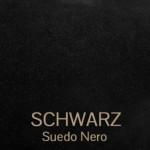 suede_nero_schwarz - Veloursleder